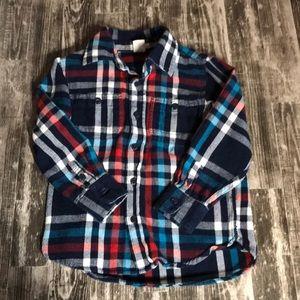 Baby Gap Boys Flannel Shirt